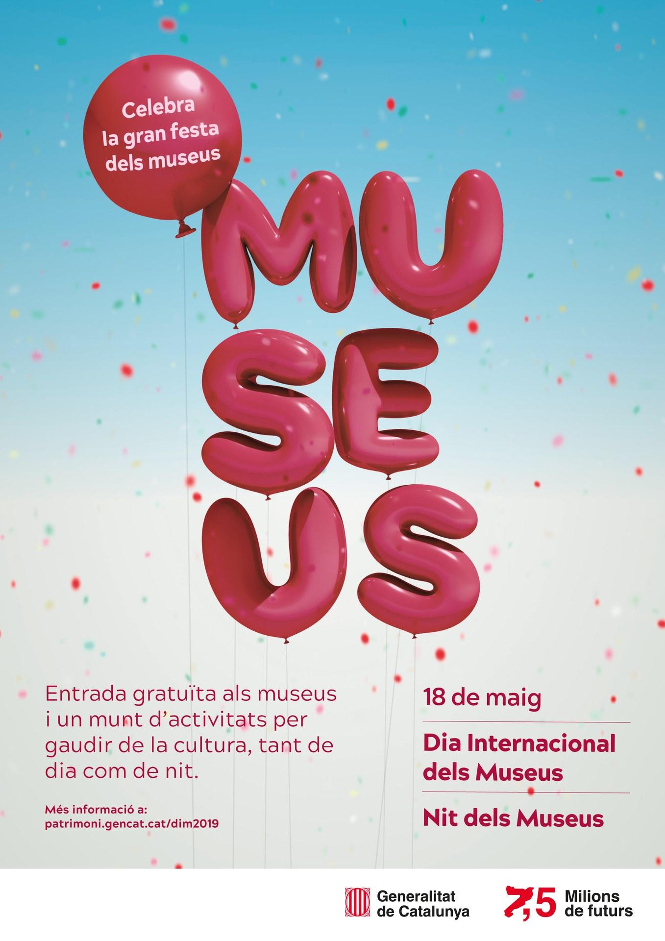 Cartell del Dia Internacional dels Museus