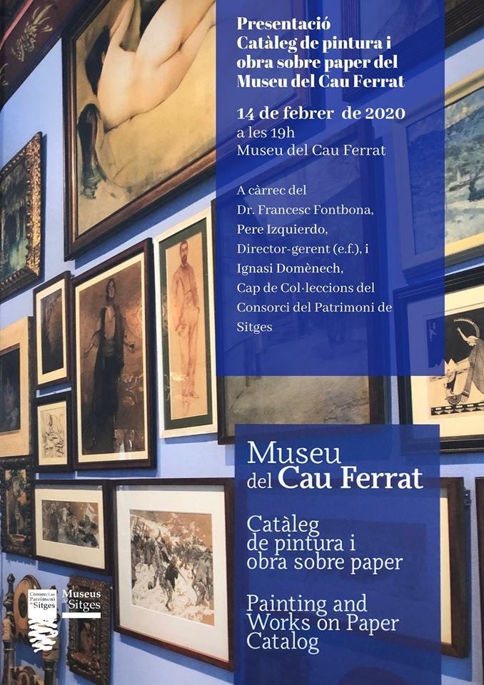 Presentació del catàleg de pintura i obra sobre paper del Cau Ferrat