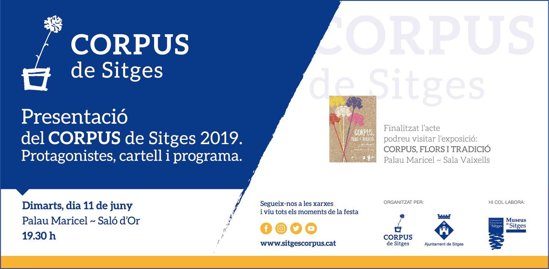 Presentació del Corpus de Sitges 2019