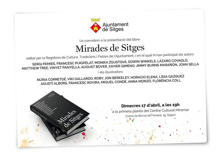 Presentació del llibre 'Mirades de Sitges'