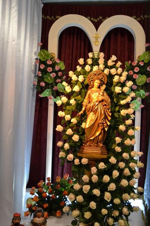 Processó en honor a Santa Tecla