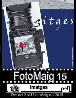 Projecció de fotografies audiovisuals d'autors sitgetans