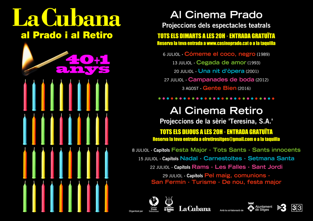 Projecció de 'Gente Bien' de La Cubana