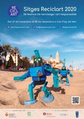 Exposició Sitges ReciclArt 2020, 5è Festival de reciclatge i art responsable