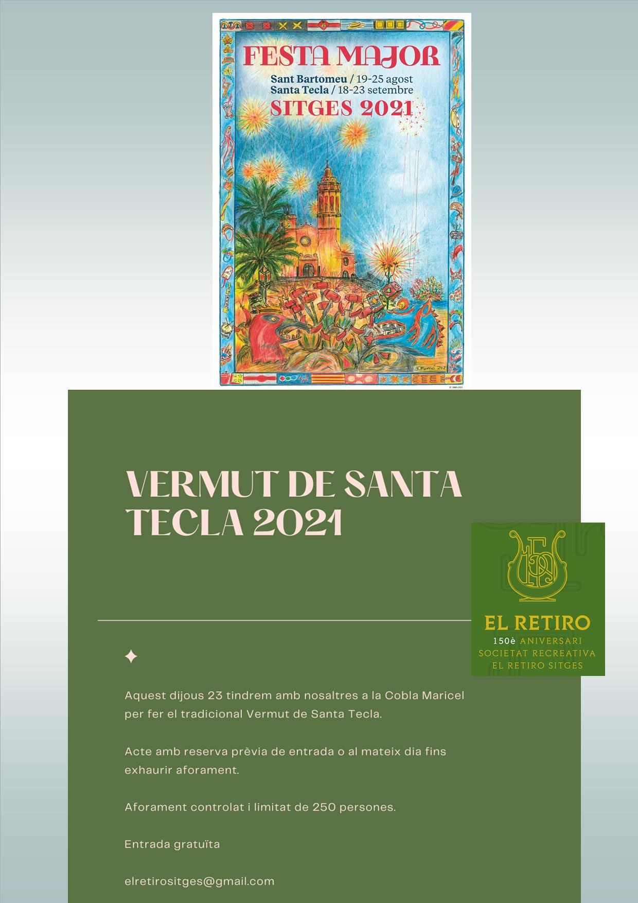Vermut Concert de Santa Tecla amb la Cobla Maricel