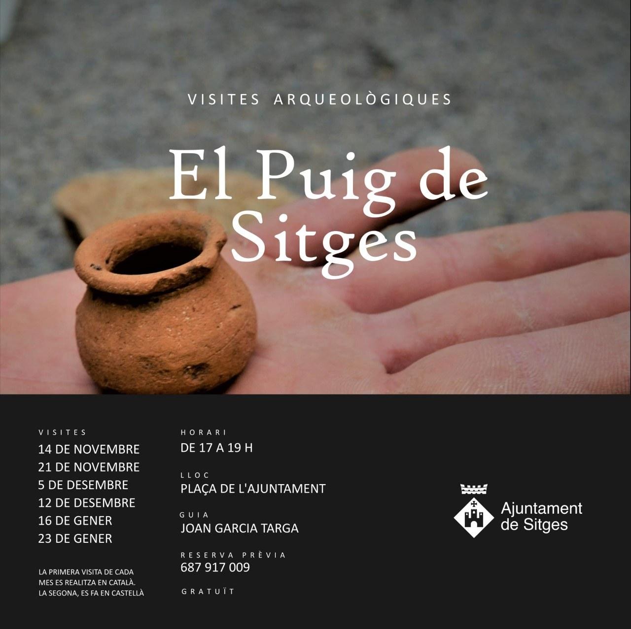 Cancel·lat. Visites arqueològiques 'El Puig de Sitges' -En català-