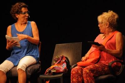 Mercè Comes i Rosa Andreu