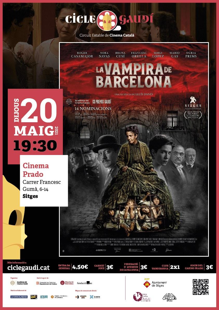 El cicle Gaudí arriba per primera vegada a Sitges per programar cinema català