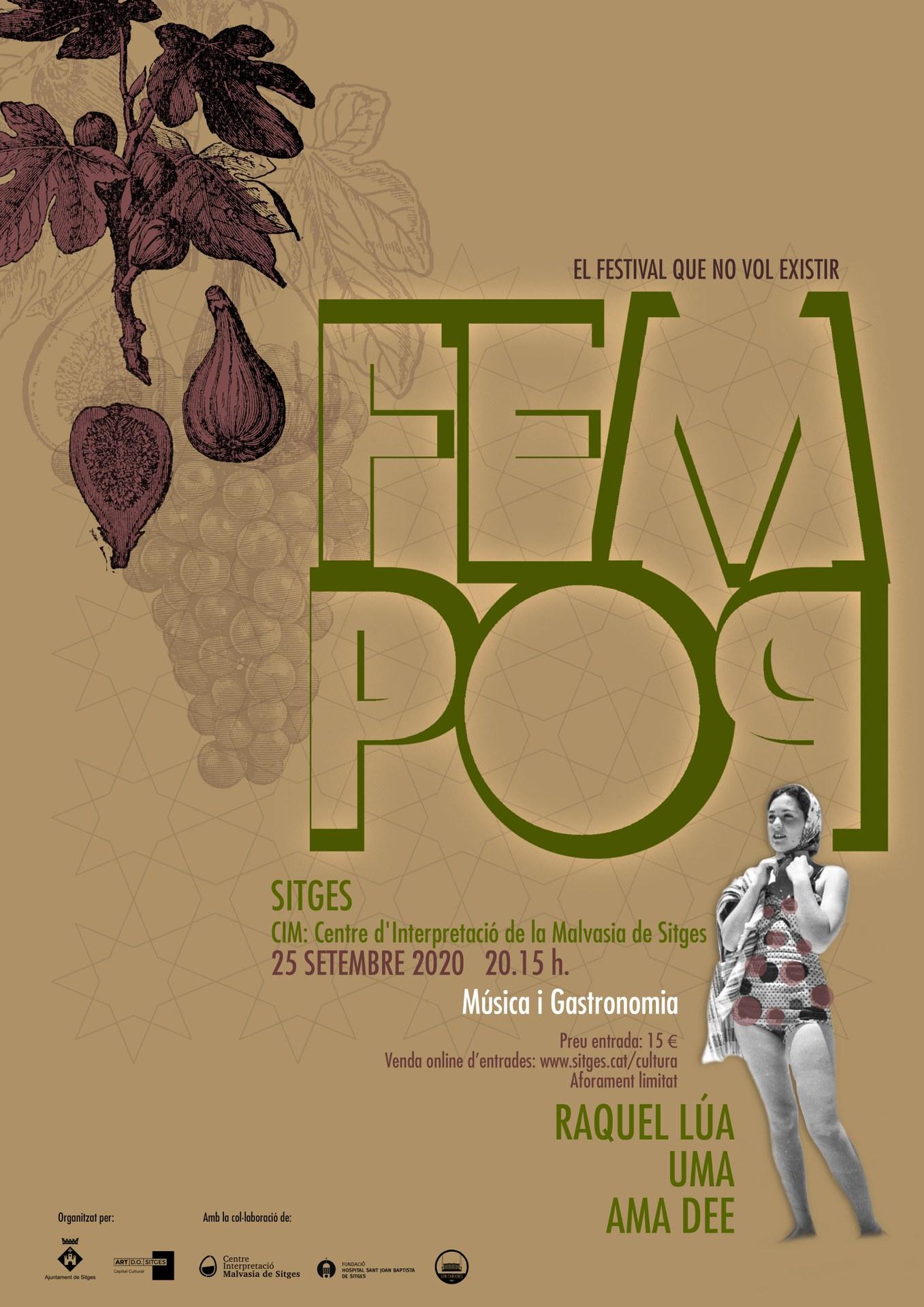 El Festival FemPop combina talent femení i gastronomia al Centre d'Interpretació de la Malvasia