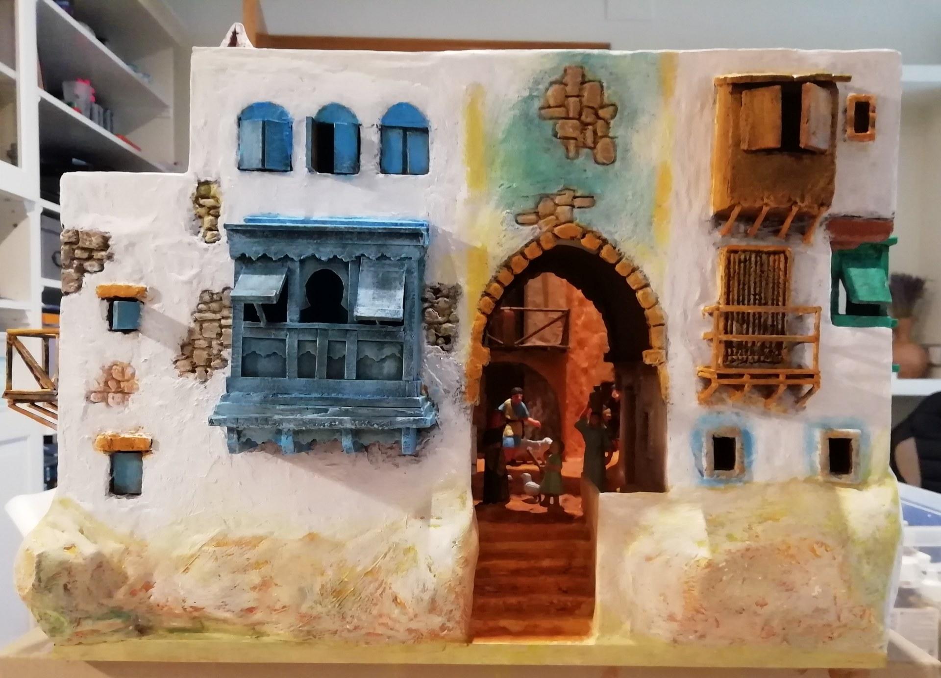 El Grup Pessebrista de Sitges impulsa per primera vegada una mostra de diorames en miniatura