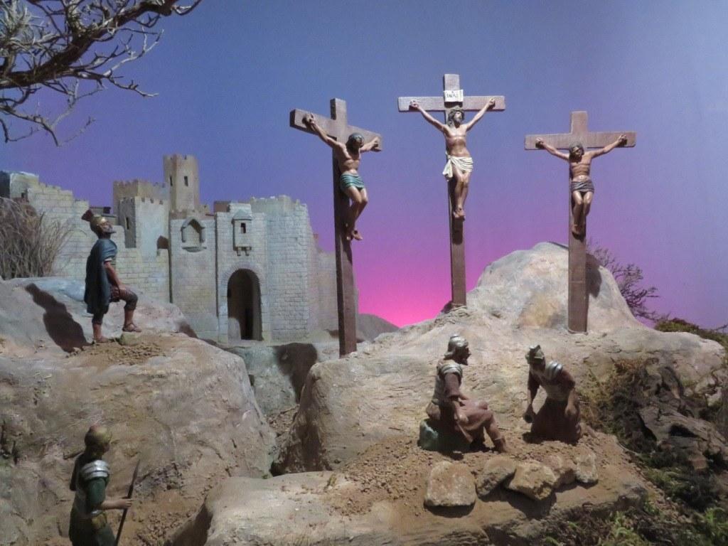 El Grup Pessebrista de Sitges ofereix una mostra virtual de diorames de Calvari