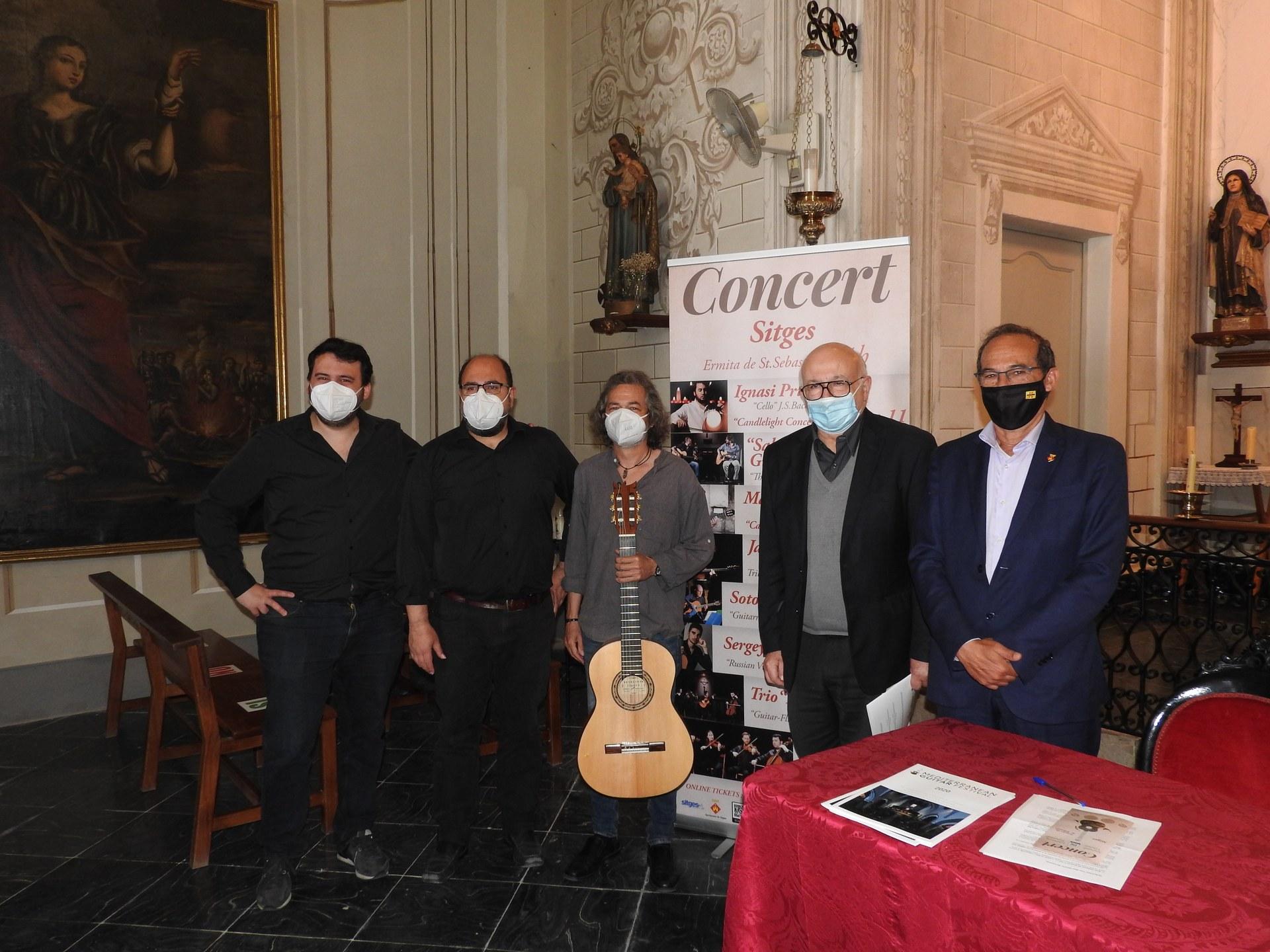 El Mediterranean Guitar Festival tindrà lloc de l'11 de juny al 22 d'octubre a l'ermita de Sant Sebastià de Sitges
