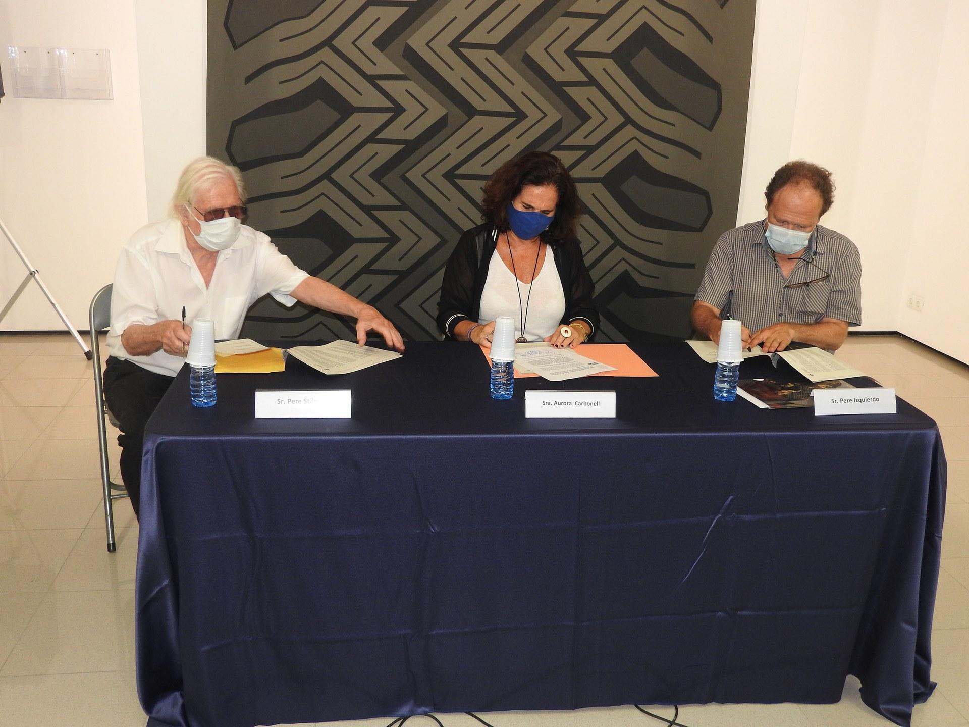 L'Ajuntament Sitges signa un conveni de col·laboració amb la Fundació Stämpfli i el Consorci del Patrimoni de Sitges