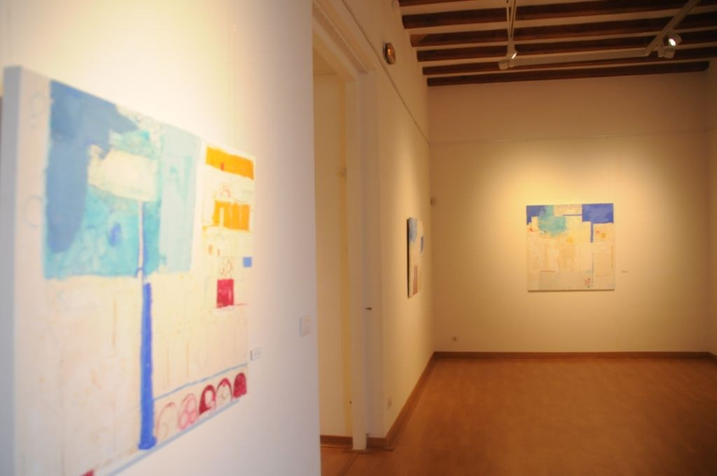L'exposició 'Orquídies i Peixos' mostra l'art més personal i introspectiu de l'artista sitgetana.