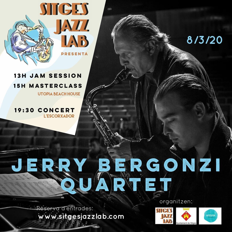 La programació musical de La Pregonera s'amplia amb el concert de Jerry Bergonzi Quartet