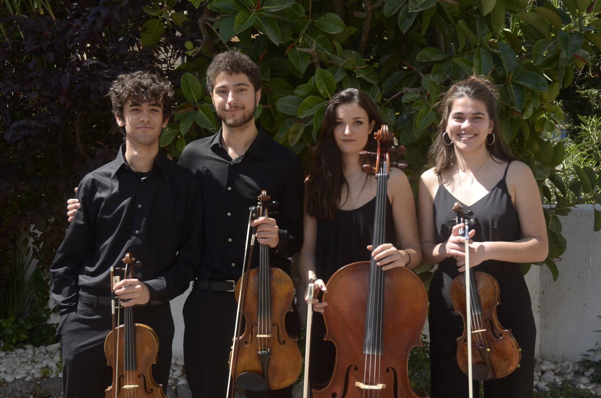 S'inicia una nova edició de la música clàssica al Racó de la Calma aquest dijous amb el Quartet Toldrà