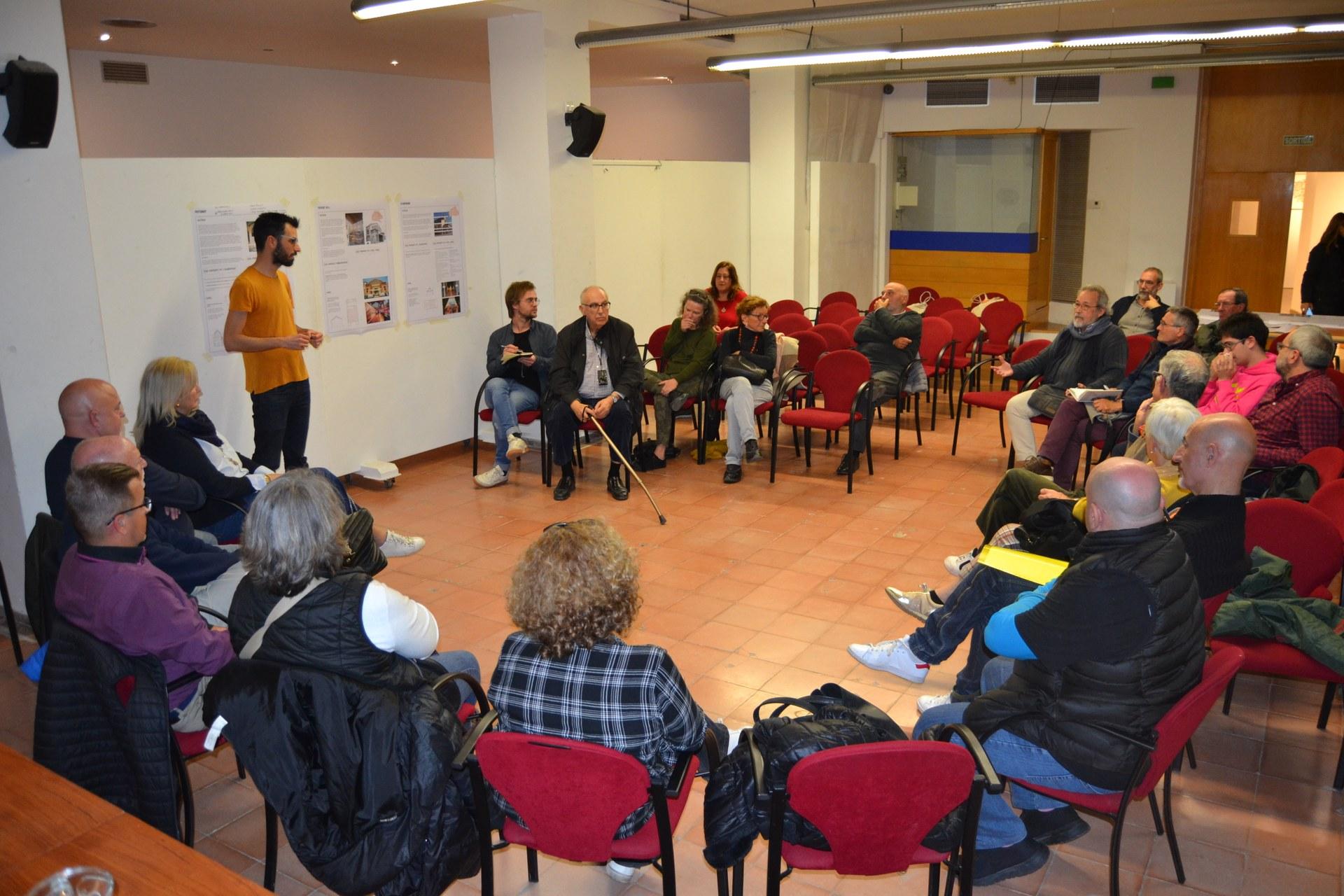 Debat general sobre els equipaments culturals celebrat el 28 de febrer passat