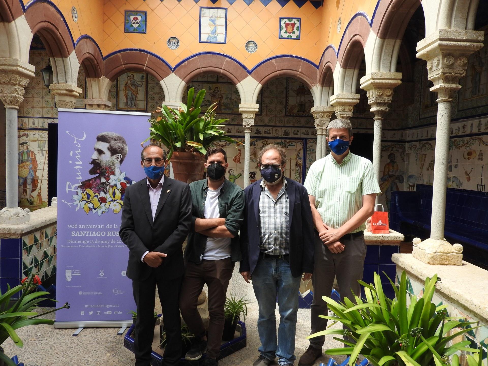Sitges commemorarà el 90è aniversari de la mort de Santiago Rusiñol amb un programa cultural i gastronòmic