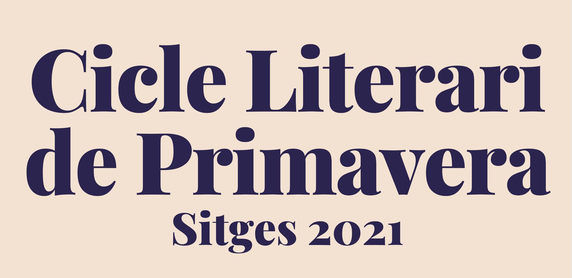 Sitges enceta el 'Cicle Literari de Primavera'