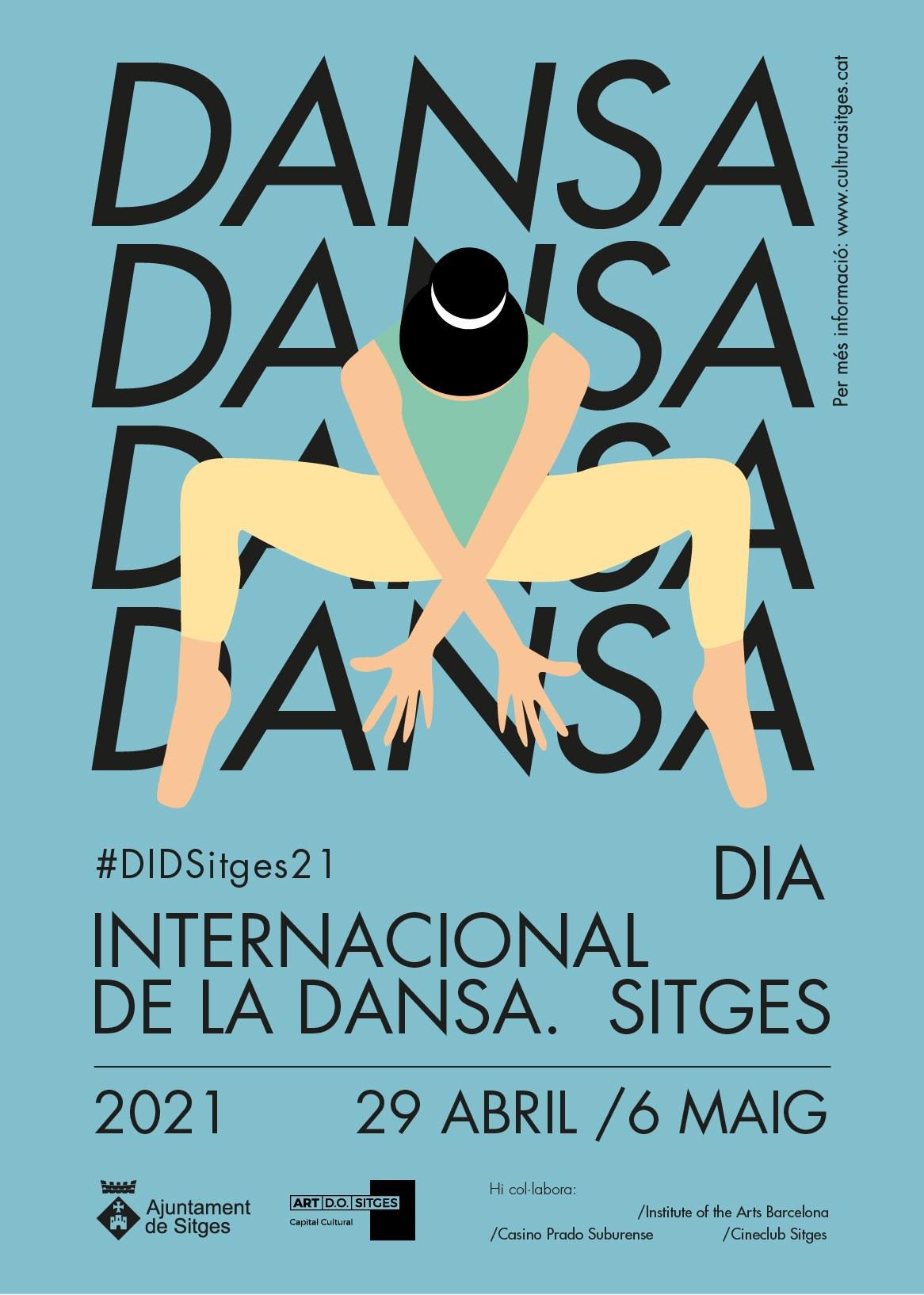 Sitges torna a ballar al carrer pel Dia Internacional de la Dansa 2021