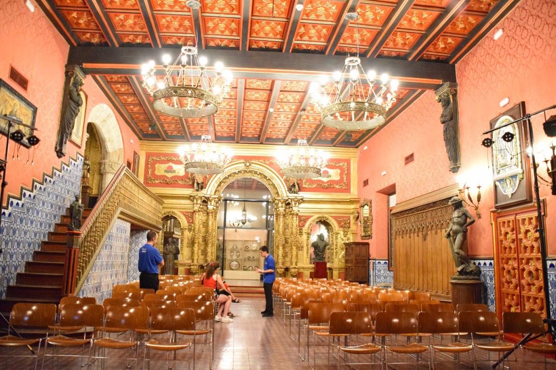 Tornen les visites dels diumenges al Palau de Maricel i se sumen les de la Fundació Stämpfli