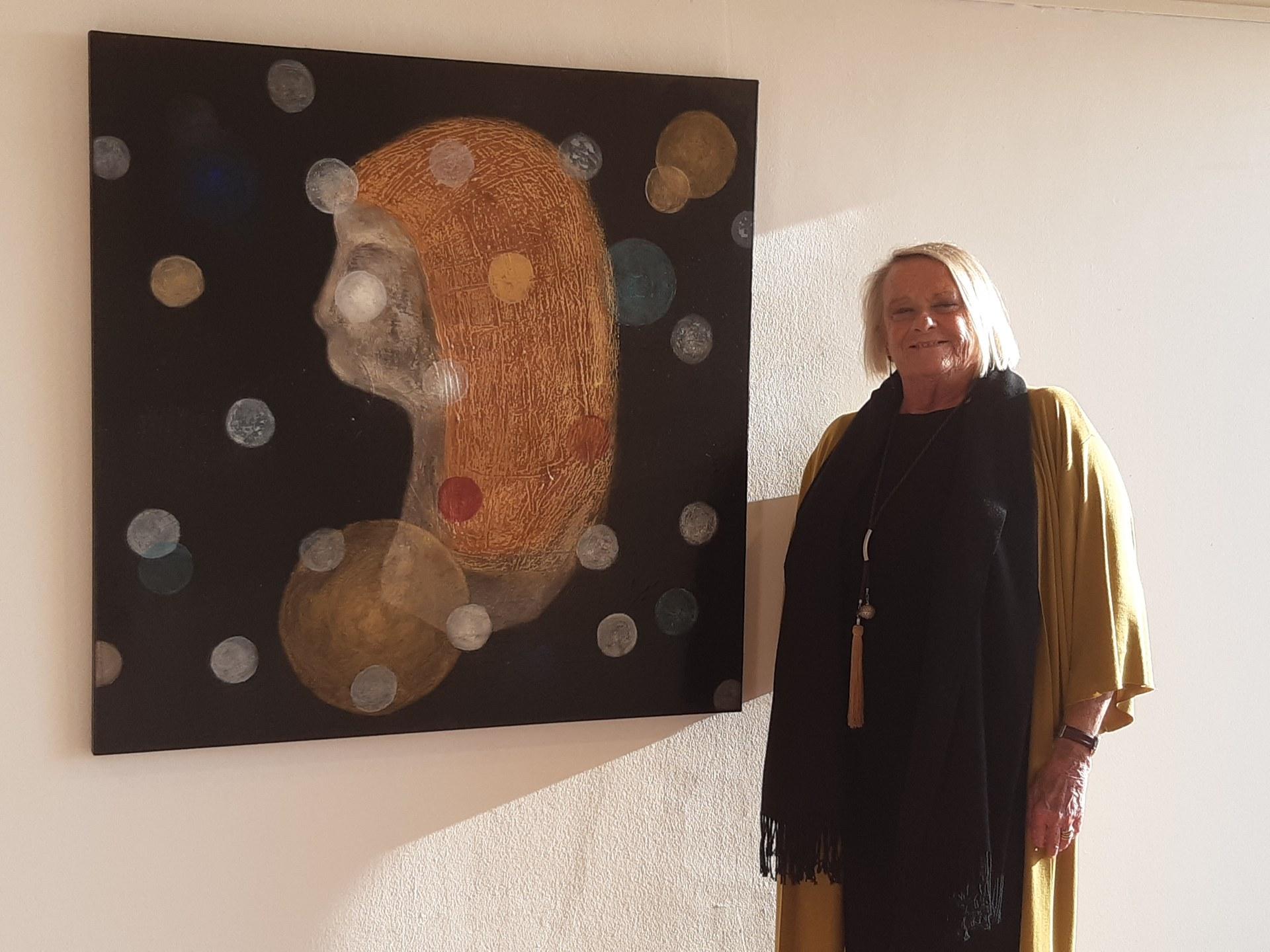 Últims dies per visitar l'exposició de la pintora Katinka Hars al Centre Cultural Miramar