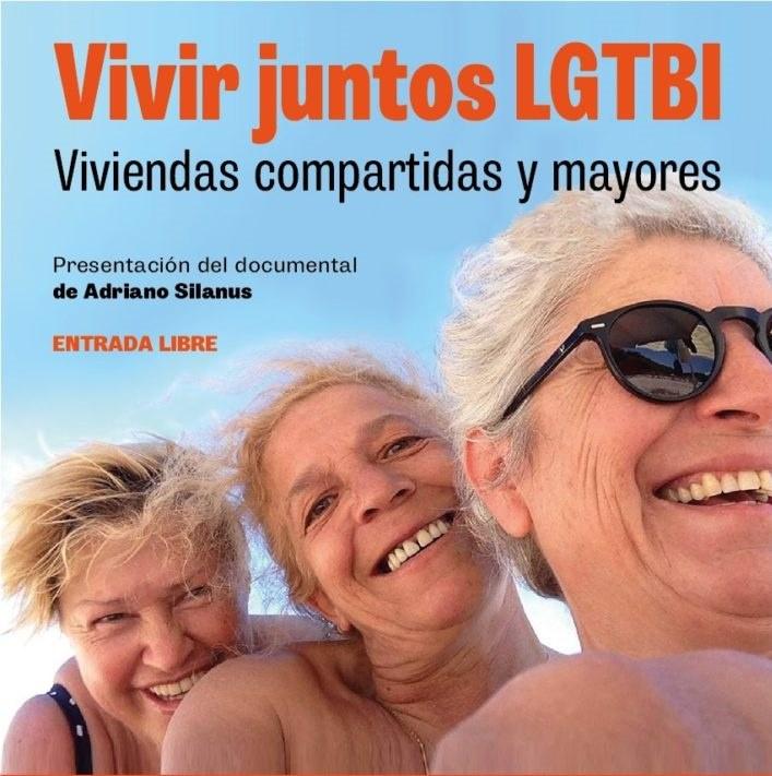 Cinema: Vivir Juntos LGTBI. Viviendas compartidas y mayores