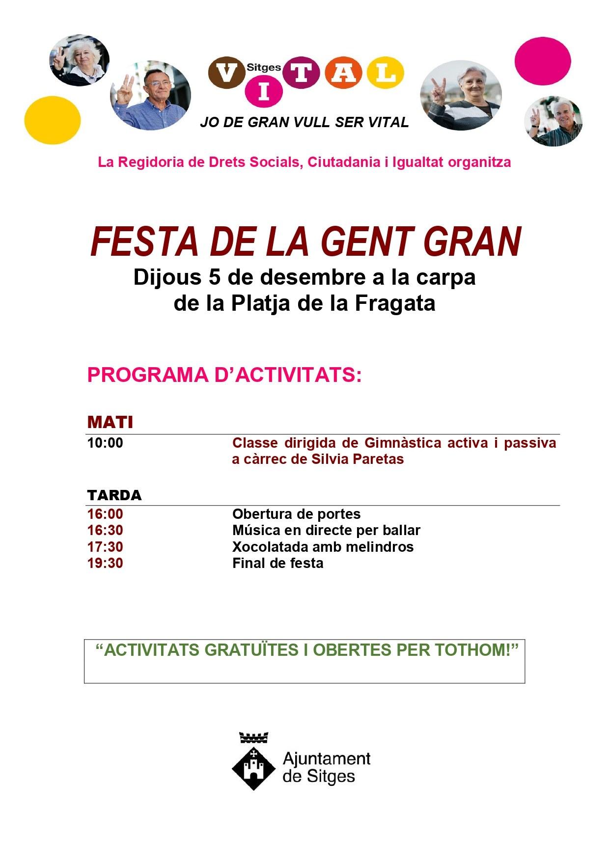 Festa de la Gent Gran (CANCEL·LAT)