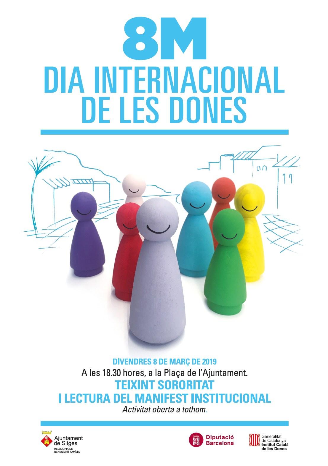 Cartell del 8M Dia de les Dones