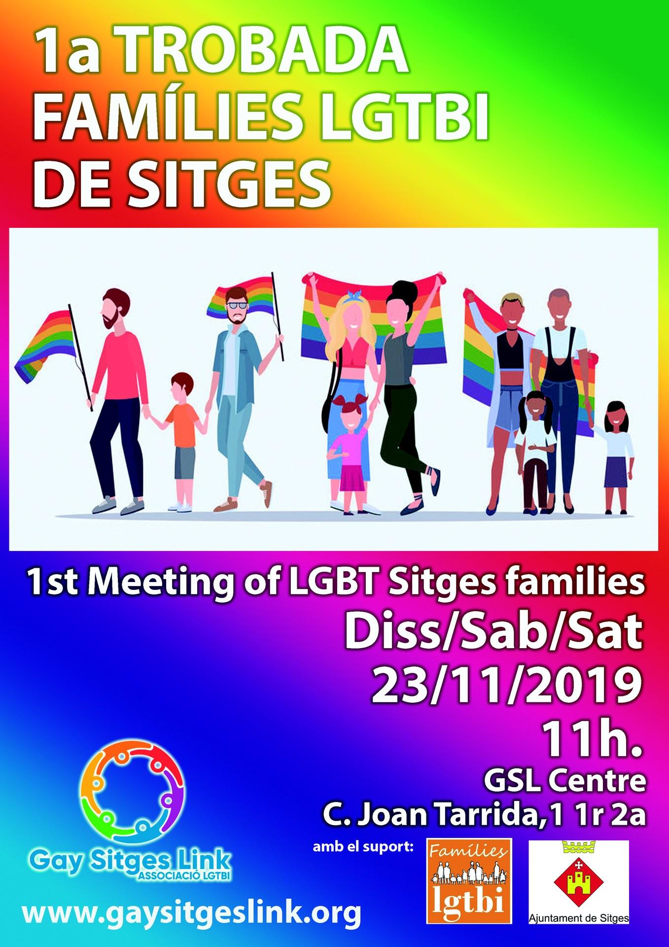 Trobada famílies LGTBI de Sitges