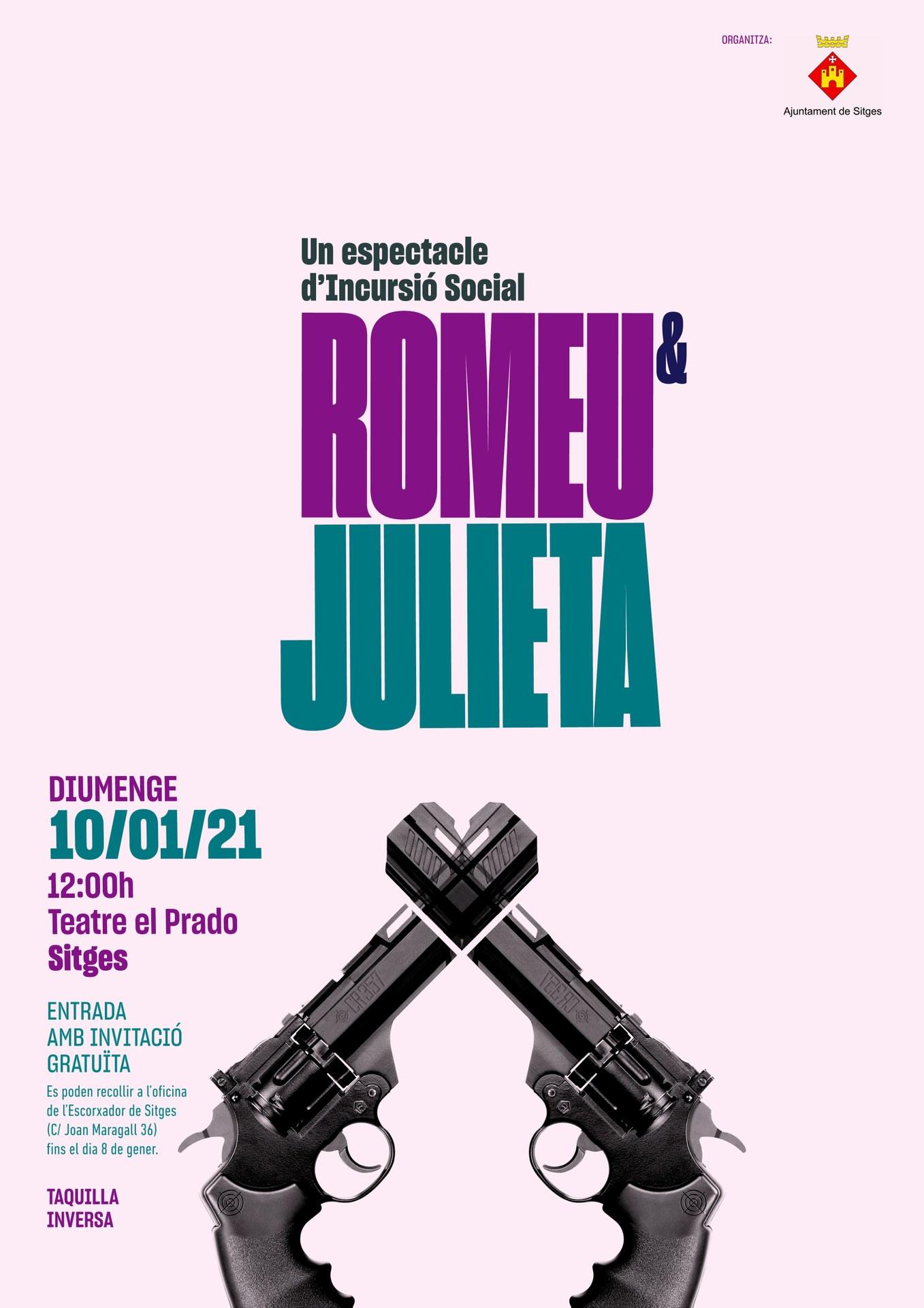 El grup del Taller de Teatre Inclusiu estrenarà l'obra 'Romeu i Julieta' el 10 de gener
