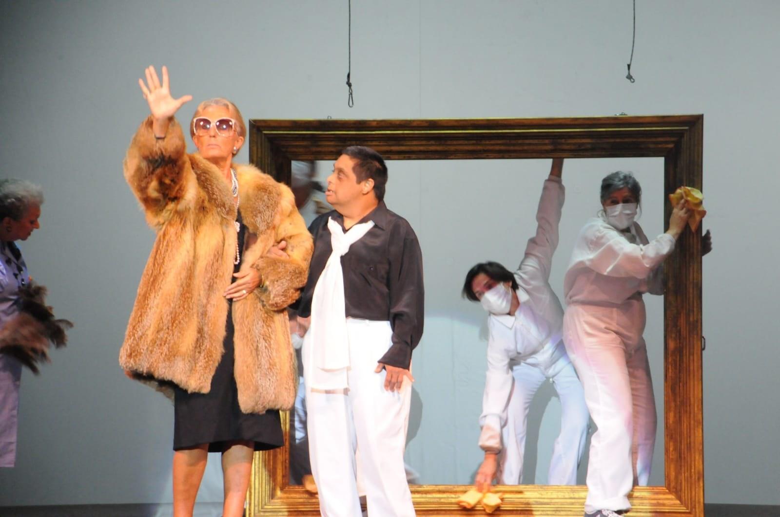 Imatge de la representació de l'obra 'Artipunt' (2019)