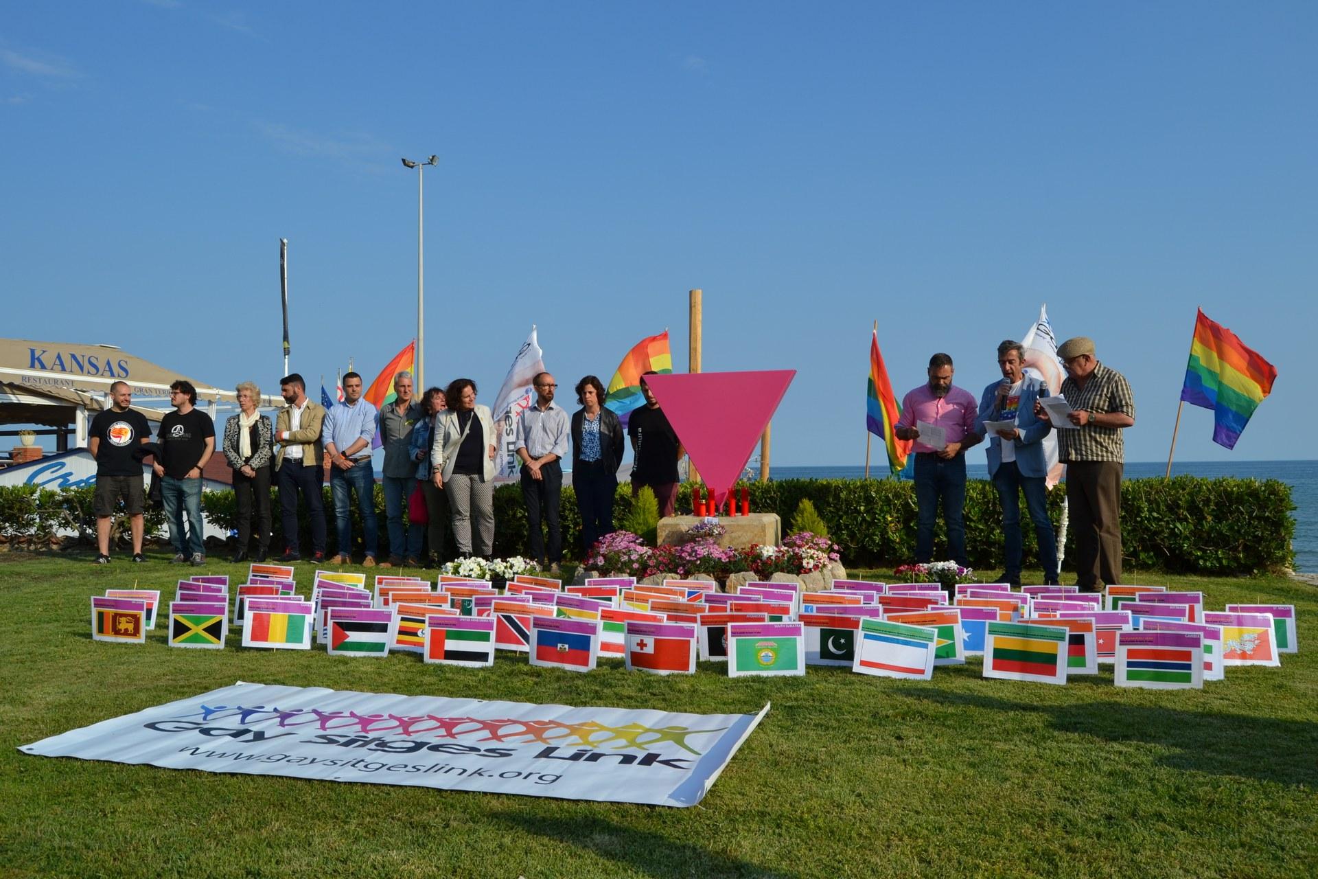 Acte central del Dia Internacional contra la LGTBIfòbia de l'any 2018