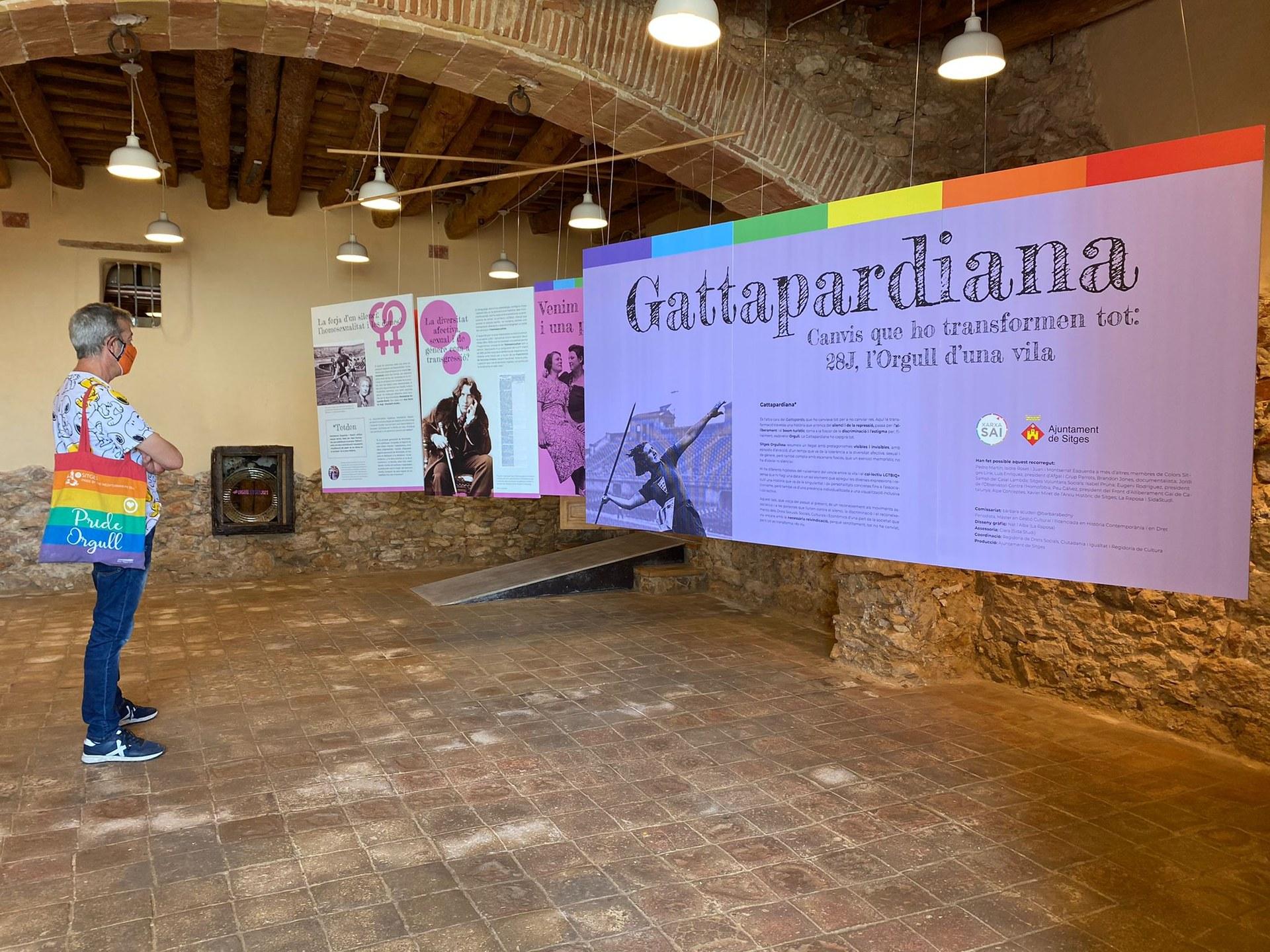 Sitges commemora un 28J reivindicatiu i convida a un exercici memorístic amb 'Gattapardiana'