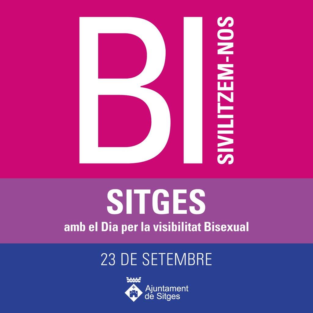 Sitges se suma al día de la Visibilidad Bisexual