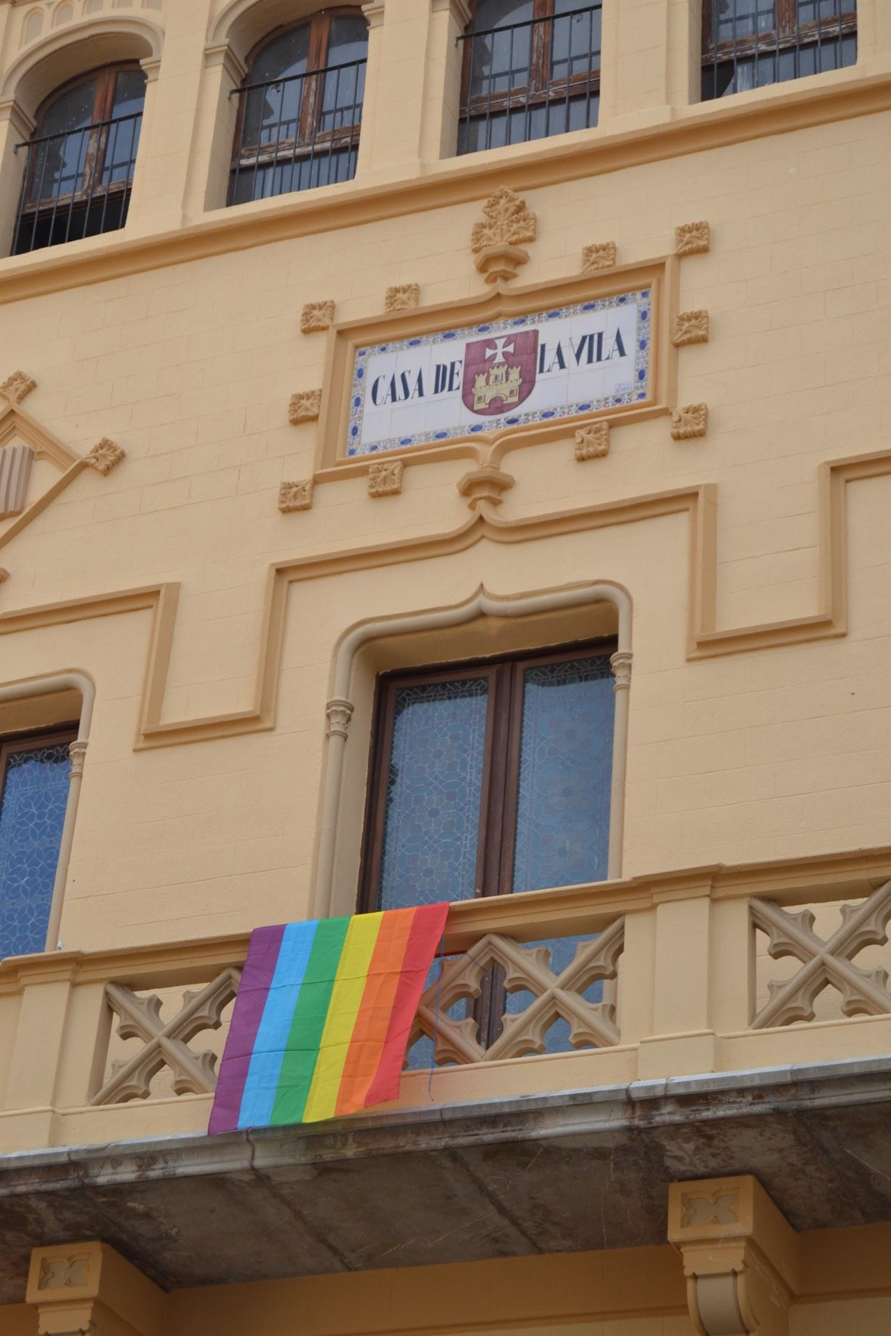 Sitges se suma al Dia Internacional de l'Orgull LGTBI