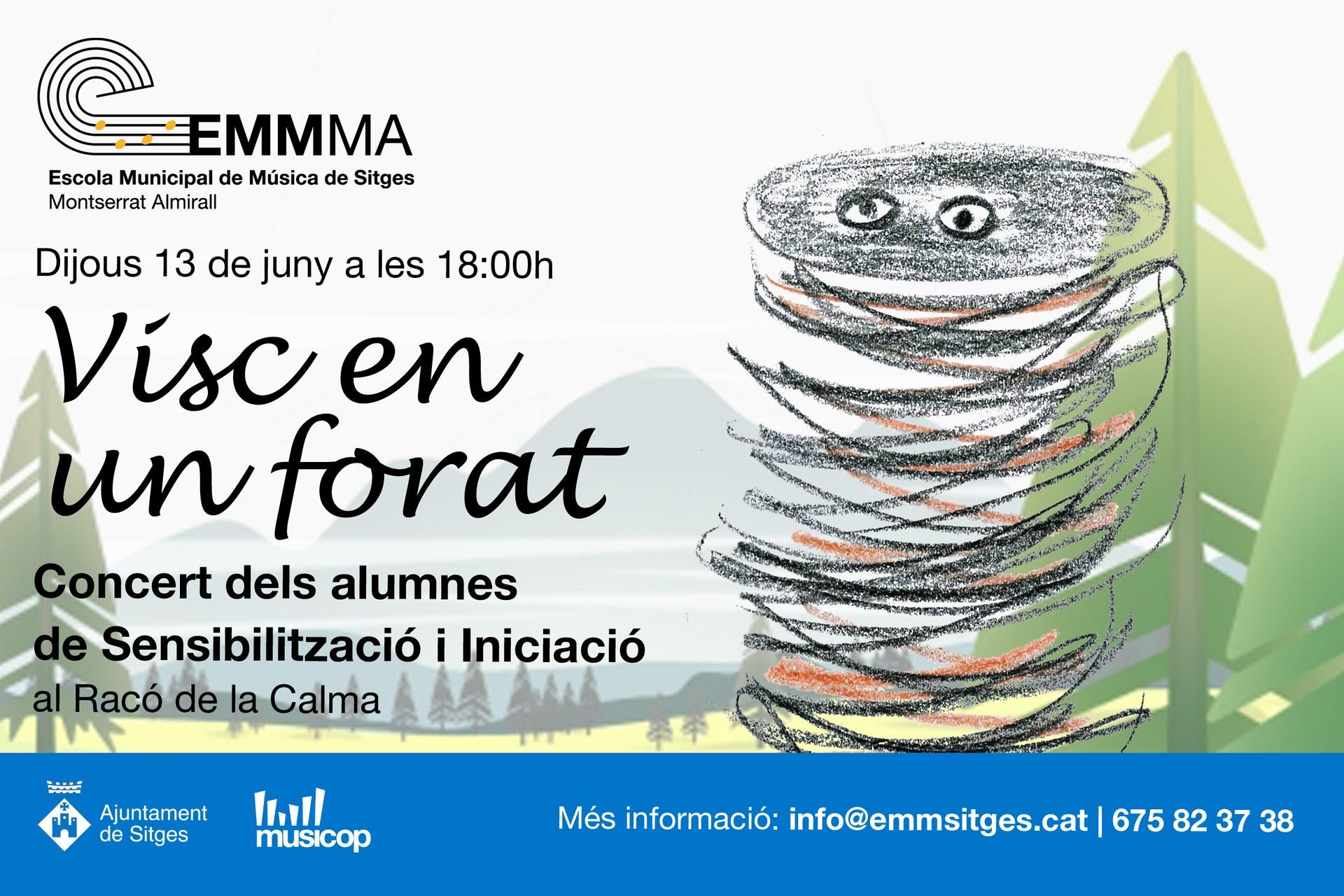 Els alumnes de sensibilització i iniciació de l'Escola Municipal de Música de Sitges oferiran un concert al Racó de la Calma