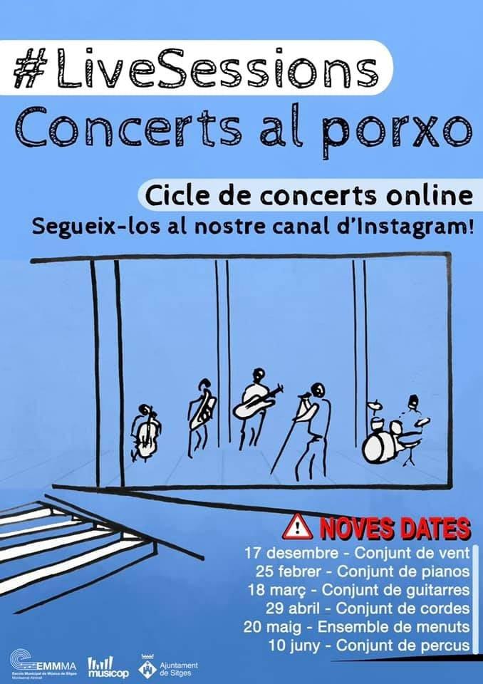 Concerts al Porxo: Ensemble de menuts -Activitat online-