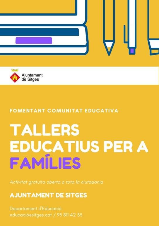 (Ajornat) Tallers educatius per a famílies - Taller 'Com Educar Positivament'