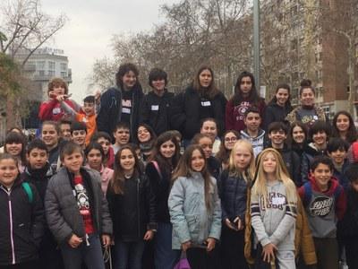 Dos joves sitgetans participen en la primera assemblea de l'any del Consell Nacional dels Infants i els Adolescents de Catalunya