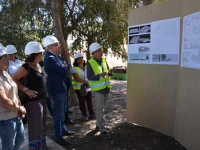 El conseller Bargalló confirma que la nova Escola Agnès de Sitges estarà a punt per al curs 2020-2021