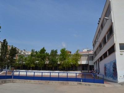 El pati de l'Escola Esteve Barrachina obrirà les tardes de dijous i divendres a partir del 5 de març