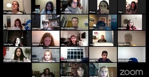 El XVIIIè Consell d'Infants es constitueix de forma telemàtica per abordar nous projectes