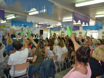 L'Escola Agnès de Sitges s'adhereix al projecte Comunitat d'Aprenentatge