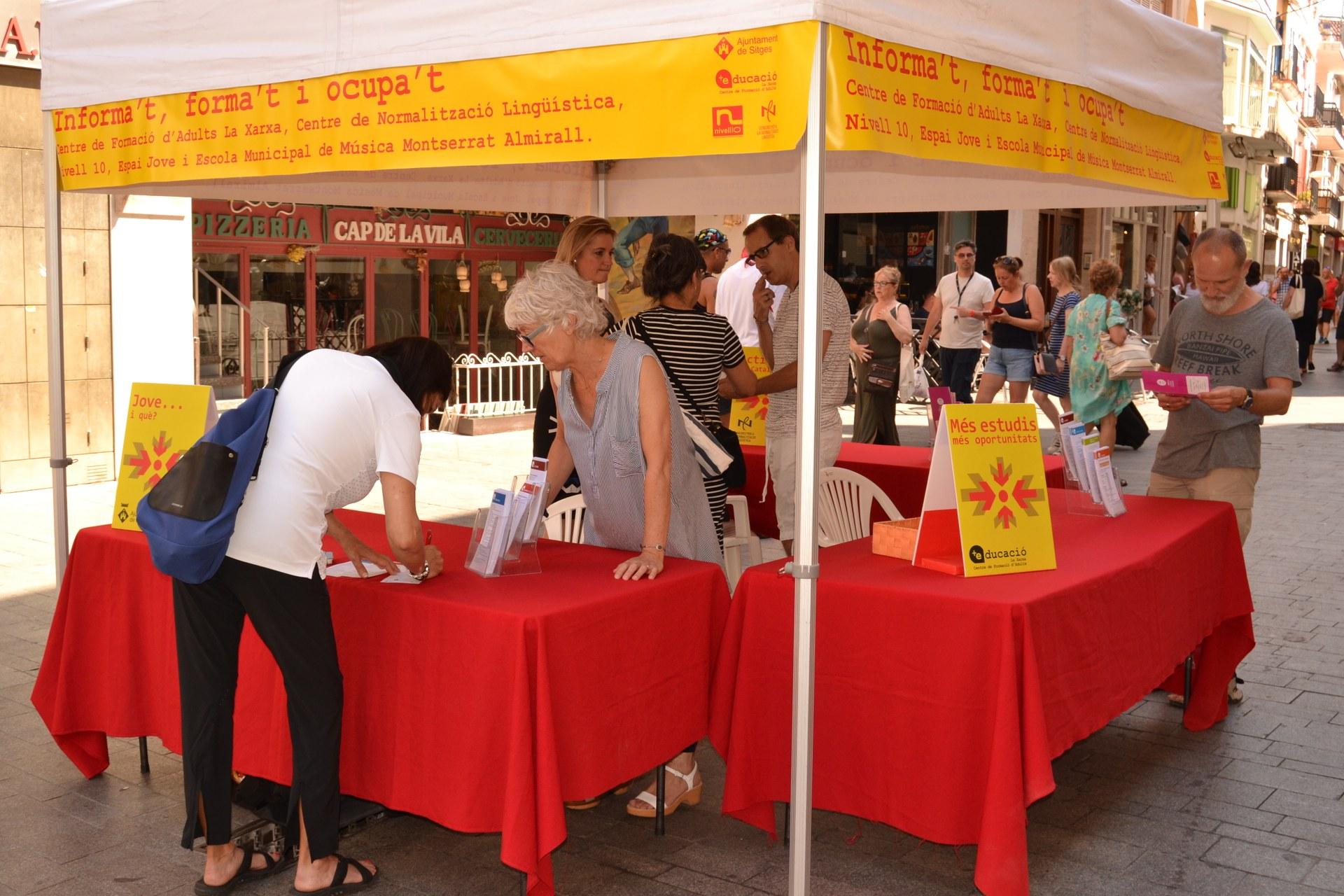 La fira Forma't i Informa't s'instal·larà els dies 5 i 6 des setembre al Cap de la Vila