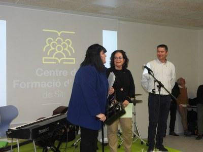La remodelació del Centre de Formació d'Adults de Sitges es presenta amb èxit de públic en l'acte inaugural