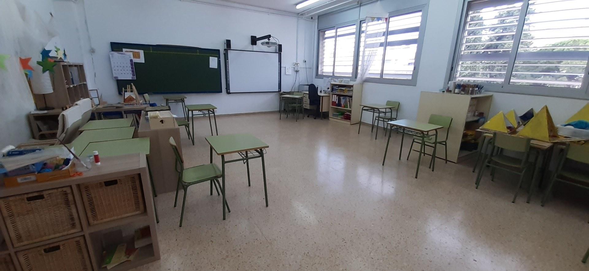 Les escoles i els instituts de Sitges es preparen per a una tornada segura a les aules