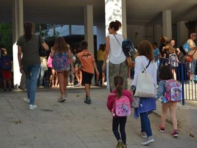 S'inicia el curs escolar a Sitges amb 2.803 alumnes