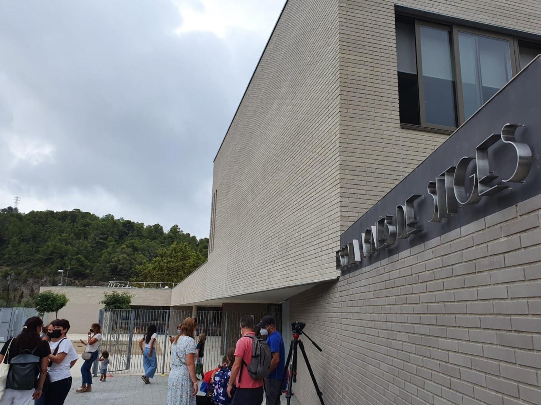 S'inicia el curs escolar a Sitges amb 3.000 alumnes i l'alumnat de l'Escola Agnès de Sitges comencen les classes al nou edifici
