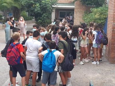Escola Esteve Barrachina - Entrada inici Curs Escolar